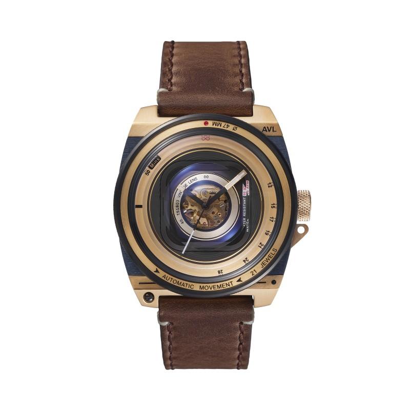 Automatic Vintage Lens II - Gold Marron - AVL II - TS1803I